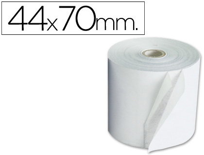 Rollo de papel tpv NORMAL 44 x 70 (envase de 10 unds)