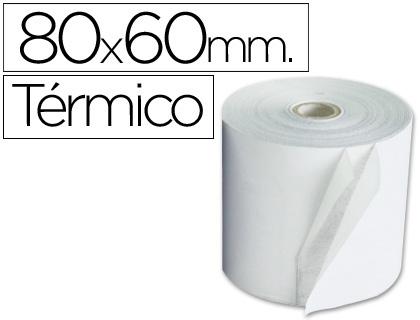 Rollo de papel TÉRMICO tpv 80 x 60 (10 unds)