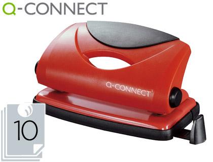 Taladradro metálico q-connect rojo