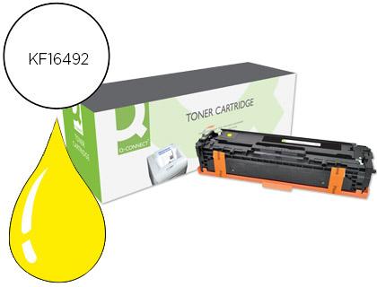 toner compatible cf212a amarillo