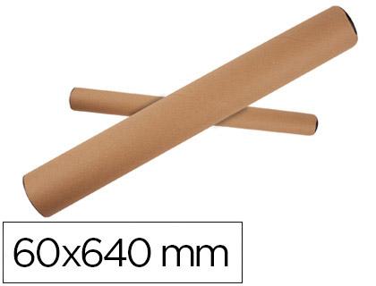 Tubo portadocumentos de 64 x 6 cm