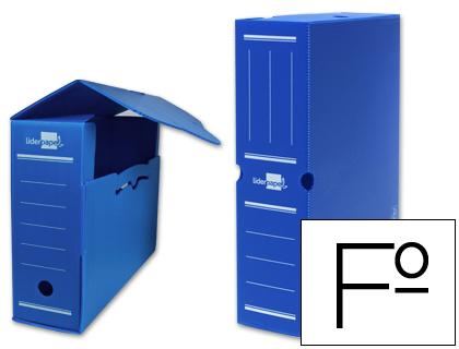Archivo definitivo de polipropileno folio azul