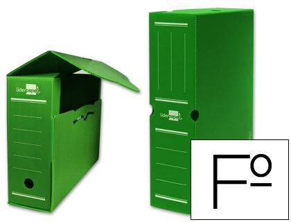Archivo definitivo de polipropileno folio verde
