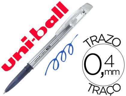 Bolígrafo tinta borrable Mitsubishi Pencil azul,12 unds.