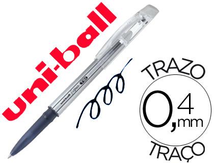 Bolígrafo tinta borrable Mitsubishi Pencil negra12 unds.
