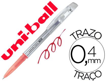 Bolígrafo tinta borrable Mitsubishi Pencil rojo 12 unds