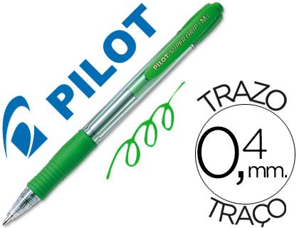 bolígrafo pilot verde