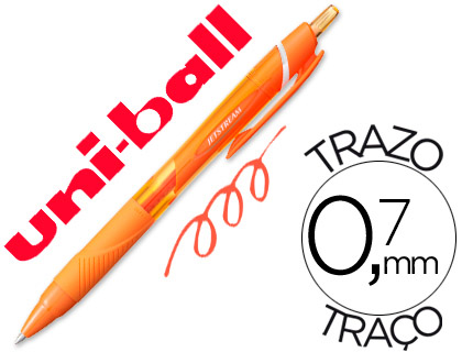 Bolígrafo Uni-Ball Jetstream SXN-157C naranja
