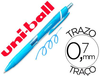 Bolígrafo Uni-Ball Jetstream SXN-157C azul claro