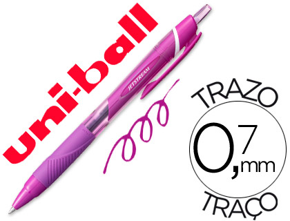 Bolígrafo Uni-Ball Jetstream SXN-157C violeta