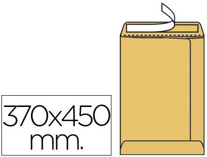 Sobre bolsa radiografía 370 x 450 mm Marrón Verjurado 100 unds.