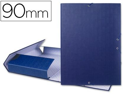 carpeta de proyectos azul