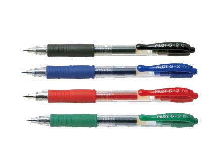 Bolígrafos de tinta gel