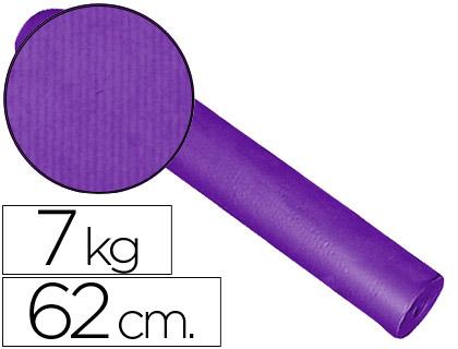 Rollo de papel embalaje kraft lila 62 cm x 200 m