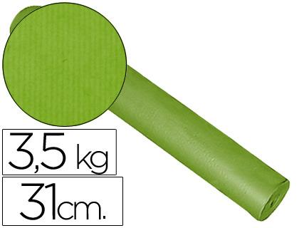 Papel embalaje kraft pistacho bobina de 31 cm x 200 m