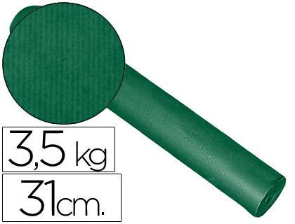 Papel embalaje kraft verde bobina de 31 cm x 200 m