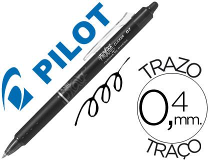 Bolígrafo tinta borrable Pilot Frixion retráctil negro