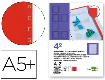 separadores abecedario