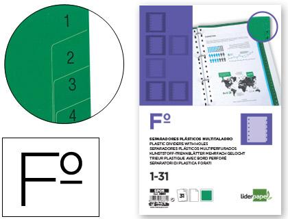 separadores numéricos