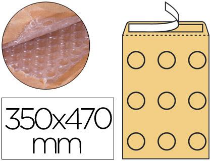 Sobre acolchado de burbujas 350 x 470 mm 10 unds.