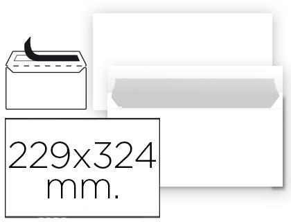 Sobre blanco 229 x 324 mm sin ventana paquete de 25