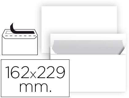 Sobre blanco 162 x 229 mm C5 sin ventana paquete de 25