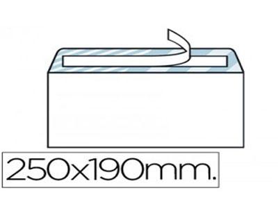 Sobres cuarto prolongado 190 x 250 mm