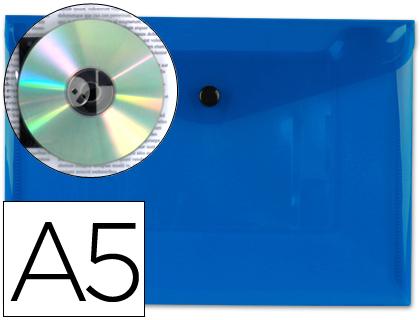 sobre de polipropileno A-5 azul