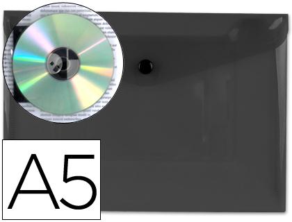 sobre de polipropileno A-5 negro