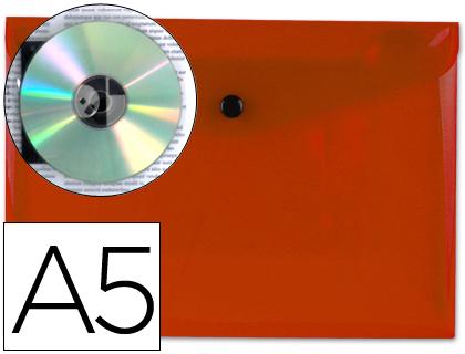 sobre de polipropileno A-5 rojo