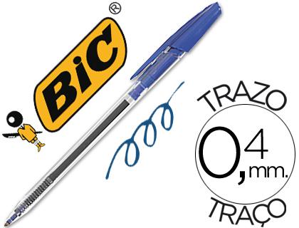 bolígrafo bic cristal