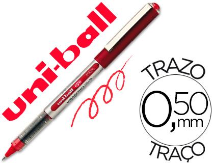 Bolígrafo Uni-Ball UB-150 Micro Eye rojo