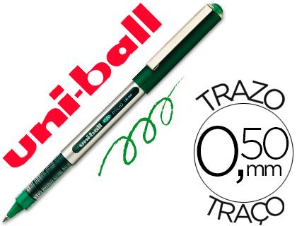 Bolígrafo Uni-Ball UB-150 Micro Eye verde