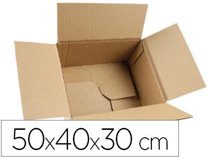 CCaja de embalaje automontable 50x40x30 cm (5 unds.)