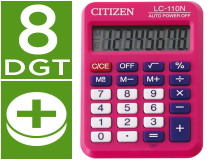 calculadora de bolsillo Citizen