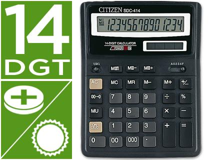 Calculadora de sobremesa Citizen SDC-414N