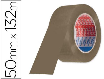 Cinta de embalaje marrón 132 x 50 mm Tesa (Pack 6 unds)