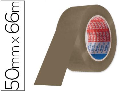 Cinta de embalaje marrón 66 x 50 mm. Tesa