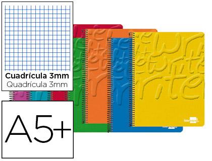 cuaderno espiral cuarto