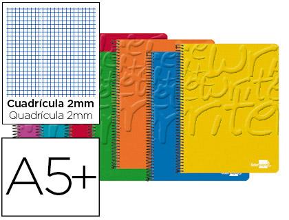 cuaderno cuarto milimetrado