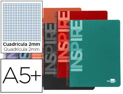 cuaderno escolar milimetrado