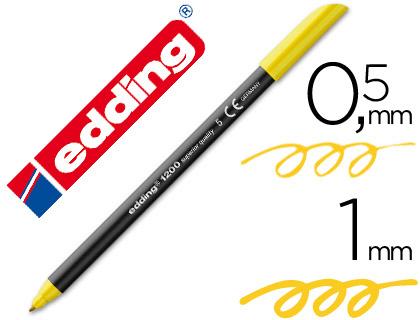 edding 1200 amarillo