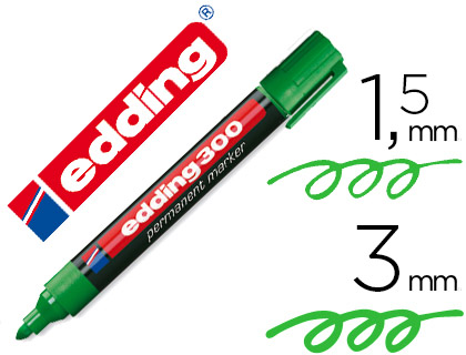 edding 300 verde