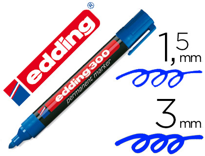 edding 300 azul
