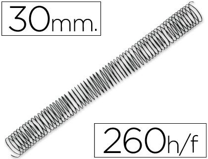 espirales metalicas 30 mm