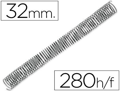espirales metalicas 32 mm