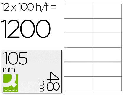 Etiquetas adhesivas para impresoras y fotocopiadoras