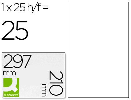Etiquetas adhesivas para impresoras INK-JET y fotocopiadoras