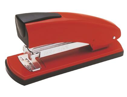 grapadora de oficina roja