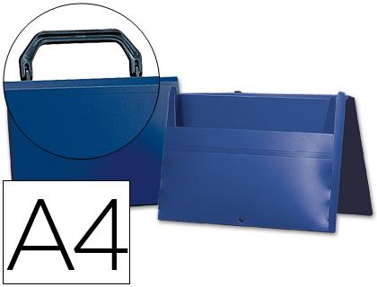 maletín portadocumentos azul